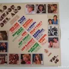Discos de vinilo: VARIOUS - LO MEJOR DEL AÑO VOL.16 (VINILO). Lote 142711086