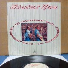 Discos de vinilo: STATUS QUO - THE ANNIVERSARY WALTZ 1990 GER. Lote 142713684