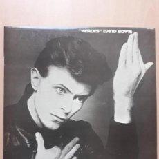 Discos de vinilo: DAVID BOWIE- HEROES- LP RCA 1977. Lote 142715826