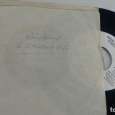 Discos de vinilo: SINGLE (VINILO)-PROMOCION- DE ROCIO DURCAL AÑOS 80. Lote 142717026