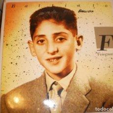 Discos de vinilo: LP FRANCO BATTIATO. FISIOGNÓMICA. EMI 1988 SPAIN CARPETA DOBLE (DISCO PROBADO Y BIEN). Lote 142718810