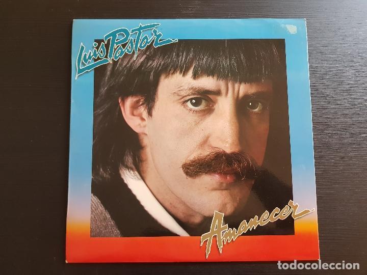 LUIS PASTOR - AMANECER - LP VINILO - MOVIEPLAY - 1981 (Música - Discos - LP Vinilo - Solistas Españoles de los 70 a la actualidad)