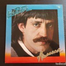 Discos de vinilo: LUIS PASTOR - AMANECER - LP VINILO - MOVIEPLAY - 1981. Lote 142722302
