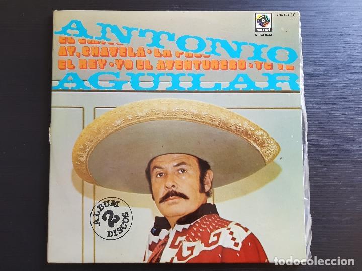 ANTONIO AGUILAR - DOBLE LP VINILO - NOVOLA - ZAFIRO - 1976 (Música - Discos - LP Vinilo - Grupos y Solistas de latinoamérica)