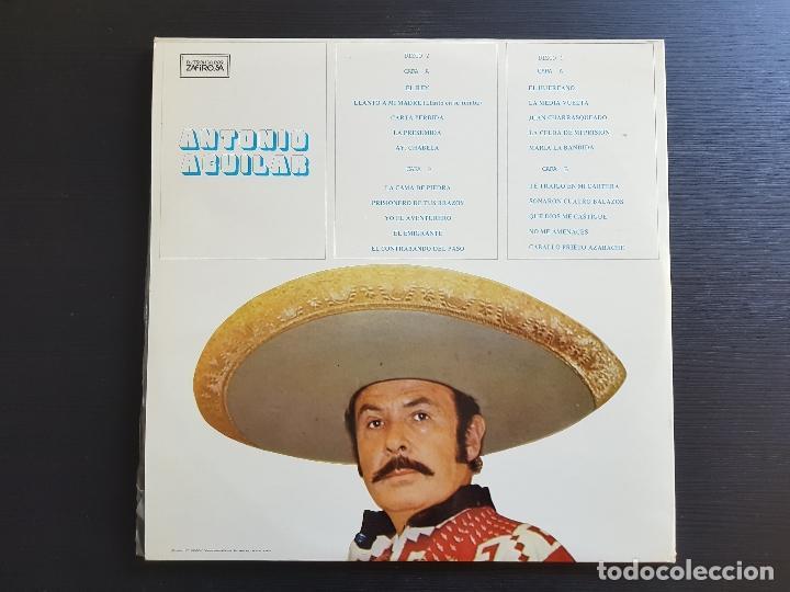 Discos de vinilo: ANTONIO AGUILAR - DOBLE LP VINILO - NOVOLA - ZAFIRO - 1976 - Foto 2 - 142723050