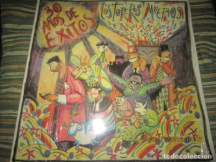 LOS TOREROS MUERTOS - 30 AÑOS DE EXITOS LP - ORIGINAL ESPAÑOL - ARIOLA 1986 - MUY NUEVO(5) (Musik - Vinyl-Schallplatten - LP - Spanische Gruppen der 70er und 80er Jahre)