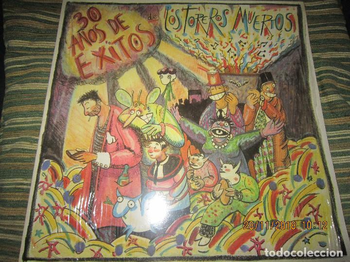 Vinyl-Schallplatten: LOS TOREROS MUERTOS - 30 AÑOS DE EXITOS LP - ORIGINAL ESPAÑOL - ARIOLA 1986 - MUY NUEVO(5) - Foto 6 - 142725174