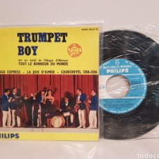 Discos de vinilo: TRUMPET BOY(FLAMINGO EXPRESS-LA JOIE D'AIMER-COURCHEVEL CHA-CHA)SINGLE. Lote 142729113