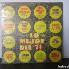 Discos de vinilo: LOS GALOS PABLUS Y ROSITA DAWN FRANCIS LAI PEPITO TORREBRUNO 1971 FAMOSO COLOMBIA LP K7 VG+. Lote 142731242