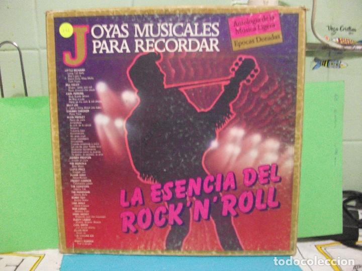 JOYAS MUSICALES PARA RECORDAR-LA ESENCIA DEL ROCK N`ROLL BOX TRIPLE LP PEPETO (Música - Discos - LP Vinilo - Rock & Roll)