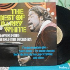 Discos de vinilo: LP THE BEST OF BARRY WHITE. LOVE UNLIMITED & LOVE UNLIMITED ORCHESTRA.. CASABLANCA 1973.. Lote 142737554