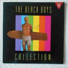 Discos de vinilo: THE BEACH BOYS COLLECTION. DOBLE LP CON 24 CANCIONES. . Lote 142745266