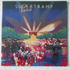 Discos de vinilo: SUPERTRAMP. PARIS. DOBLE LP EN DIRECTO. 16 CANCIONES.. Lote 142745326