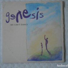 Discos de vinilo: GENESIS. WE CAN'T DANCE. DOBLE LP CON 12 CANCIONES. Lote 142745378