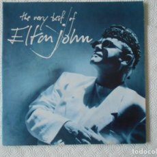 Discos de vinilo: ELTON JOHN. THE VERY BEST OF ELTON JOHN. DOBLE LP CON 25 CANCIONES.. Lote 142745426