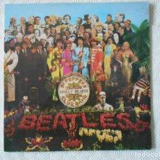 Discos de vinilo: THE BEATLES. SGT. PEPPERS LONELY HEARTS CLUB BAND. LP CON 13 CANCIONES.. Lote 142745662