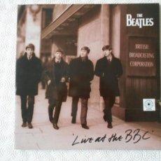 Discos de vinilo: THE BEATLES. LIVE AT THE BBC. DOBLE LP CON 69 CANCIONES.. Lote 142745978