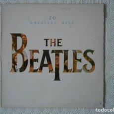 Discos de vinilo: THE BEATLES. 20 GREATEST HITS. LP CPN 20 CANCIONES.. Lote 142746226