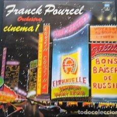 Discos de vinilo: FRANCK POURCEL - CINEMA 1 - 2 DISCOS. Lote 142764086