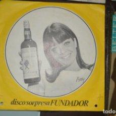 Discos de vinilo: DISCO SORPRESA FUNDADOR. CARMEN MORENO / CHATO DE LA ISLA. 1967. Lote 142764658