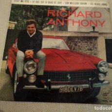Discos de vinilo: RICHARD ANTHONY 7EPL 13994 C'EST MA FÊTE LE CIEL EST SI BEAU CE SOIR..... Lote 142765858
