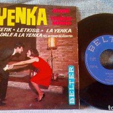 Discos de vinilo: DUBÉ Y TERESA MARIA - ''LA YENKA'' - YENKA RIKETIK / LETKISS + 2 EP SPAIN BELTER 51.483 - COMO NUEVO. Lote 142769138