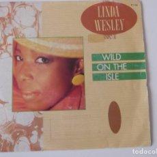 Discos de vinilo: LINDA WESLEY - WILD ON THE ISLE. Lote 142771830