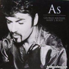 Discos de vinilo: GEORGE MICHAEL / MARY J. BLIGE - AS - MAXI-SINGLE EUROPE 1999. Lote 142776882