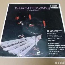Discos de vinilo: MANTOVANI (LP) MANTOVANI Y SU ORQUESTA AÑO 1963. Lote 142781582