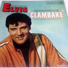 Discos de vinilo: LP ELVIS CLAMBAKE. Lote 142783758