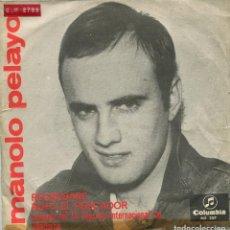 Discos de vinilo: MANOLO PELAYO / RUFO EL PESCADOR (III FESTIVAL DE MALLORCA) REGRESARE (SINGLE 1966). Lote 142788462