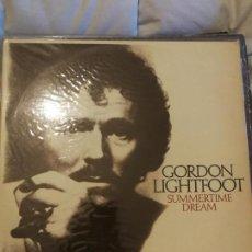 Discos de vinilo: GORDON LIGHTFOOT - SUMMERTIME DREAM - LP VINILO SPAIN 1976 HISPAVOX. Lote 142793706
