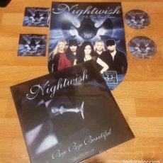 Discos de vinilo: NIGHTWISH LP BYE.PICTURE DISC 2008 + PROMO SET DARK PASSION.2007-IRON MAIDEN-WITHIN TEMPTATION. Lote 142797034