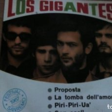 Discos de vinilo: LOS GIGANTES PROPOSTA + 3 EP. Lote 142805222