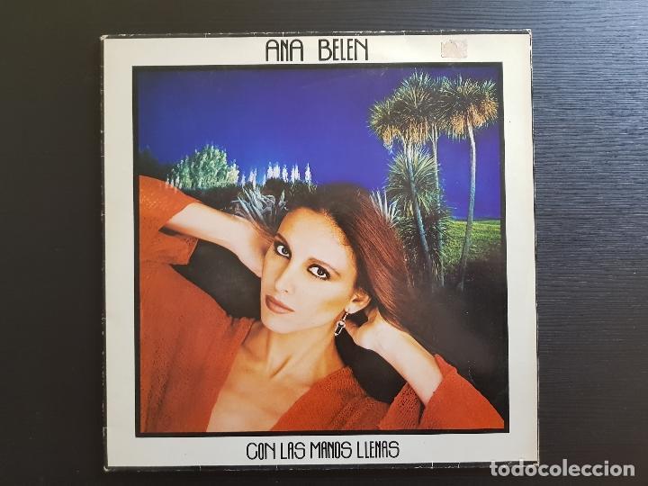 ANA BELEN - CON LAS MANOS LLENAS - LP VINILO - CBS - 1980 (Música - Discos - LP Vinilo - Solistas Españoles de los 70 a la actualidad)