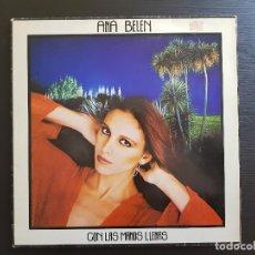 Discos de vinilo: ANA BELEN - CON LAS MANOS LLENAS - LP VINILO - CBS - 1980. Lote 142805330