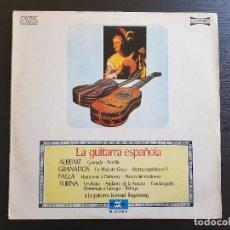 Discos de vinilo: LA GUITARRA ESPAÑOLA - ALBENIZ - GRANADOS - FALLA - TURINA - LP VINILO - VOX - 1976. Lote 142807118