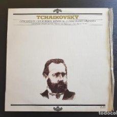 Discos de vinilo: TCHAIKOVSKY - CONCIERTO Nº1 - BAMBERGER - SONDRA BIANCA - LP VINILO - GRAMUSIC - 1978. Lote 142807402