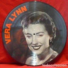 Discos de vinilo: VERA LYNN * LP PICTURE DISC * GREATEST HITS * FOTODISCO * MUY RARO * MADE IN DINAMARCA NUEVO. Lote 26597540