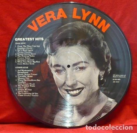 Discos de vinilo: VERA LYNN * LP PICTURE DISC * GREATEST HITS * FOTODISCO * MUY RARO * MADE IN DINAMARCA NUEVO - Foto 4 - 26597540