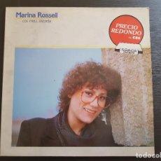 Discos de vinilo: MARINA ROSSELL - COS MEU, RECORDA - LP VINILO - CBS - 1982. Lote 142808402