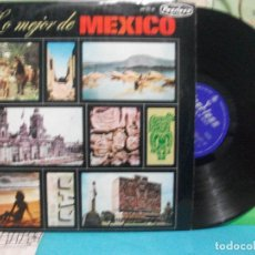 Discos de vinilo: VARIOS ( LOLA BELTRAN DEMETRIO GONZALEZ PEDRO INFANTE. ) - DE MEXICO - LP PEERLESS 65 PEPETO. Lote 142819402