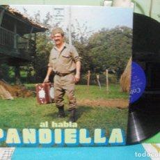 Discos de vinilo: AL HABLA PANDIELLA / LP COLUMBIA DE 1974 ASTURIAS PEPETO. Lote 142822738