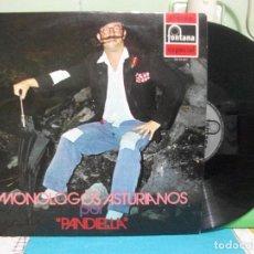 Discos de vinilo: LP PANDIELLA , MONOLOGOS ASTURIANOS FONTANA NUEV0¡¡ PEPETO. Lote 142823258