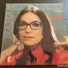 Discos de vinilo: NANA MOUSKOURI - LIBERTAD - LP VINILO - POLYGRAM - 1986. Lote 142823474