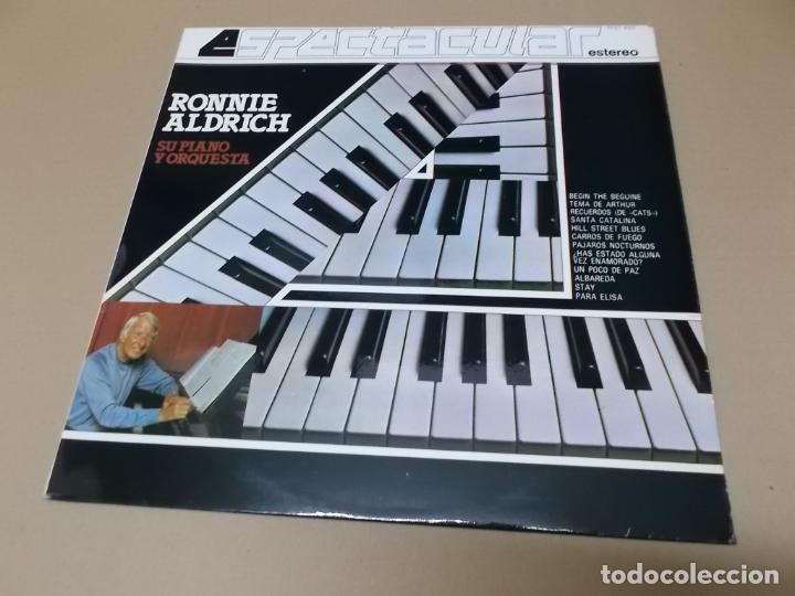 RONNIE ALDRICH (LP) RONNIE ALDRICH ESPECTACULAR AÑO 1982 (Música - Discos - LP Vinilo - Orquestas)