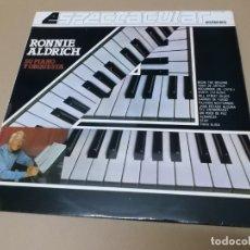 Discos de vinilo: RONNIE ALDRICH (LP) RONNIE ALDRICH ESPECTACULAR AÑO 1982. Lote 142828186