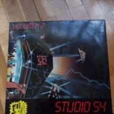 Discos de vinilo: STUDIO 54 VOL.2 AÑO 1985. Lote 142832802