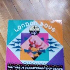 Discos de vinilo: LONDON BOYS AÑO 1989. Lote 142833408