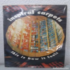 Discos de vinilo: INSPIRAL CARPETS - THIS IS HOW IT FEELS. Lote 142843438